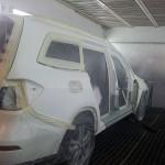 Mercedes  GL pred nalakovanim Torera.cz