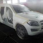 Mercedes GL pred nalakovanim.Torera.cz
